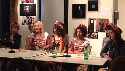Rencontre avec le mouvement Femen