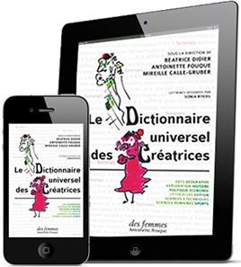 L'eBook du Dictionnaire universel des créatrices