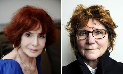 Vénus Khoury-Ghata et Catherine Weinzaepflen