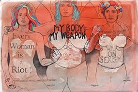 Jenny Wenhammar Déesses Femen exposition