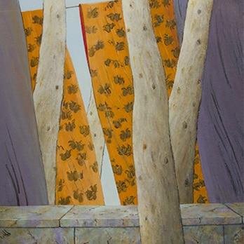 Peinture de l'absence d'Azadeh Yavari