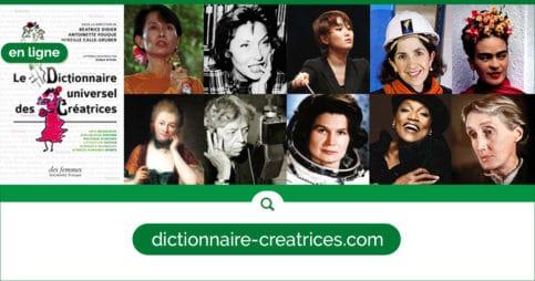 Le Dictionnaire des Créatrices en ligne