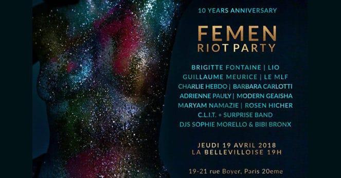 Les dix ans des Femen