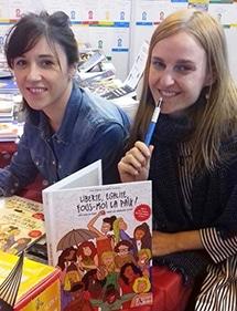 Claire Gosnon, dessinatrice et Julie Clavier, auteure