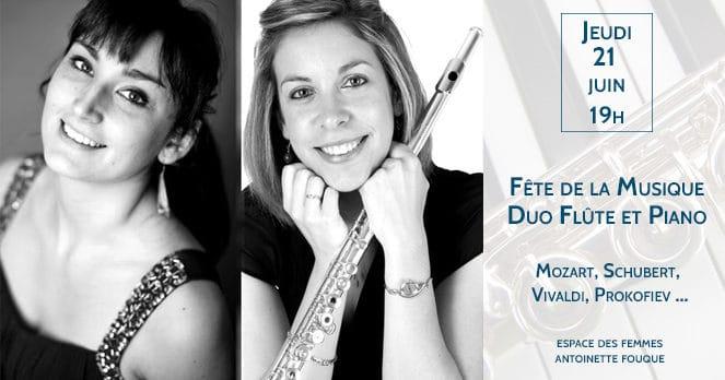 Fête de la Musique, Duo Flûte et piano