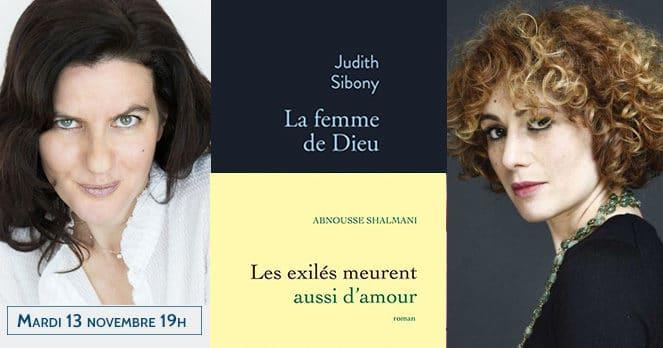 Rencontre avec Judith Sibony et Abnousse Shalmani