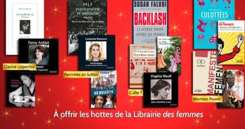Idées de cadeaux à la Librairie des femmes