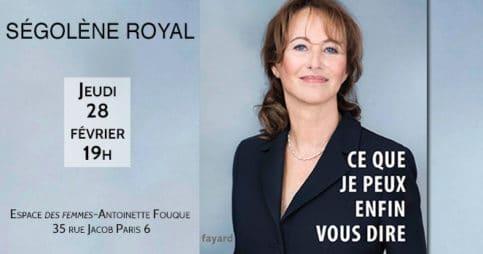 Rencontre avec Ségolène Royal