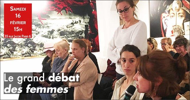 Le Grand débat des femmes