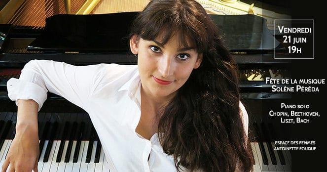 Fête de la musique, Solène Péréda