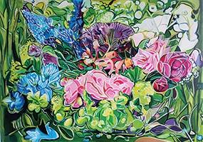 Sabine Savornin, Surgissement floral