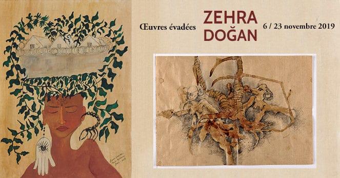 Œuvres évadées de Zehra Doğan