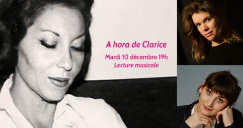 Lecture musicale de Clarice Lispector