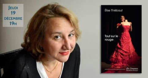 Rencontre avec Élise Thiébaut