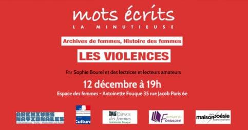 Mots écrits, archives de femmes : les violences