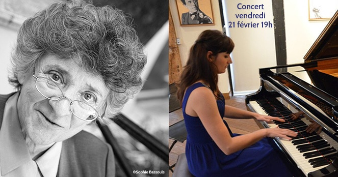 Concert de Solène Péréda pour Antoinette Fouque
