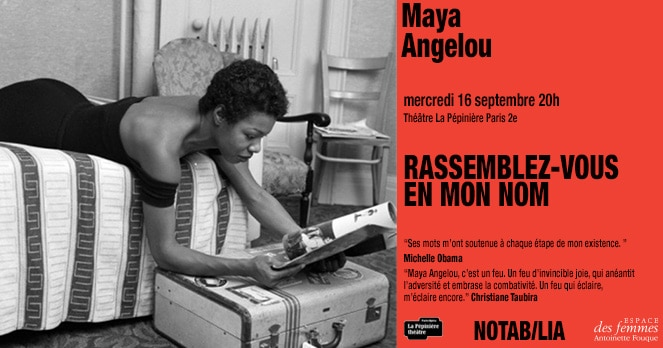Maya Angelou, Rassemblez-vous en mon nom