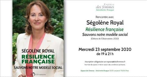 Ségolène Royal, Résilience française