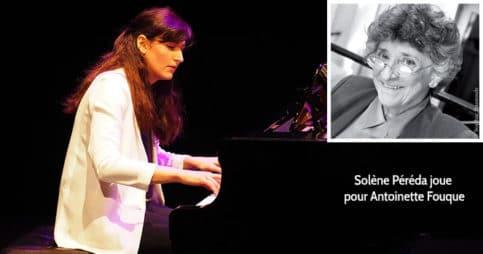 Récital de piano de Solène Péréda