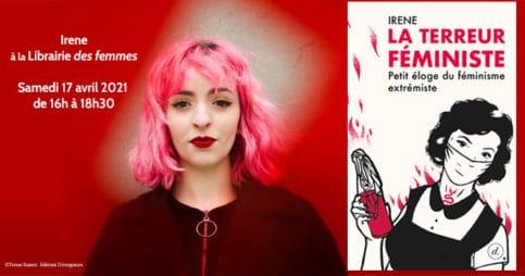 Irene, La terreur féministe à la librairie des femmes