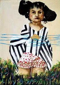 Fabiana Peña Plault, La petite fille
