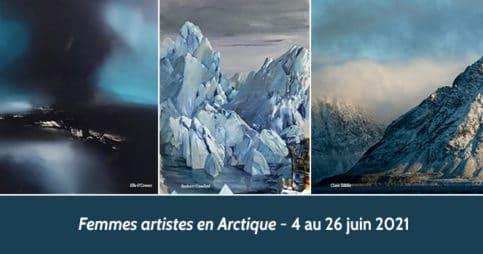 Femmes artistes en Arctique