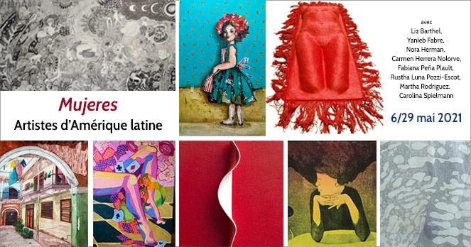Mujeres, artistes d'Amérique latine